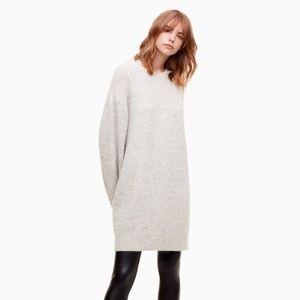 Aritzia Wilfred Free Cipriana Sweater Dress